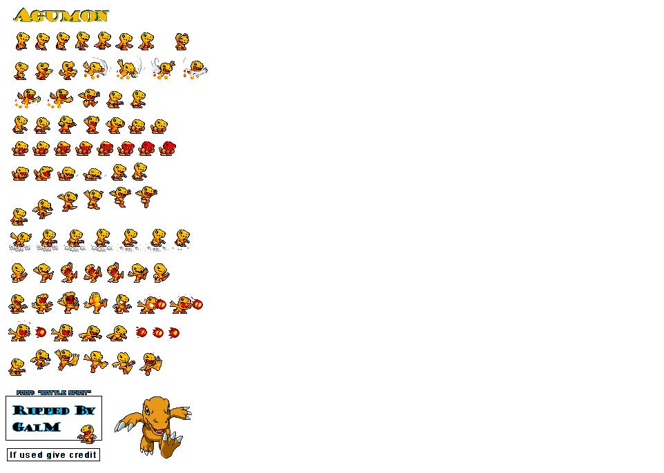 Digimon Sp Digimon Sprites Info And Shows